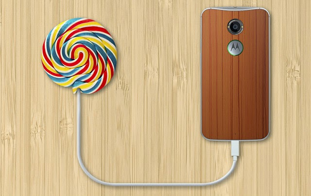 Lollipop Moto X