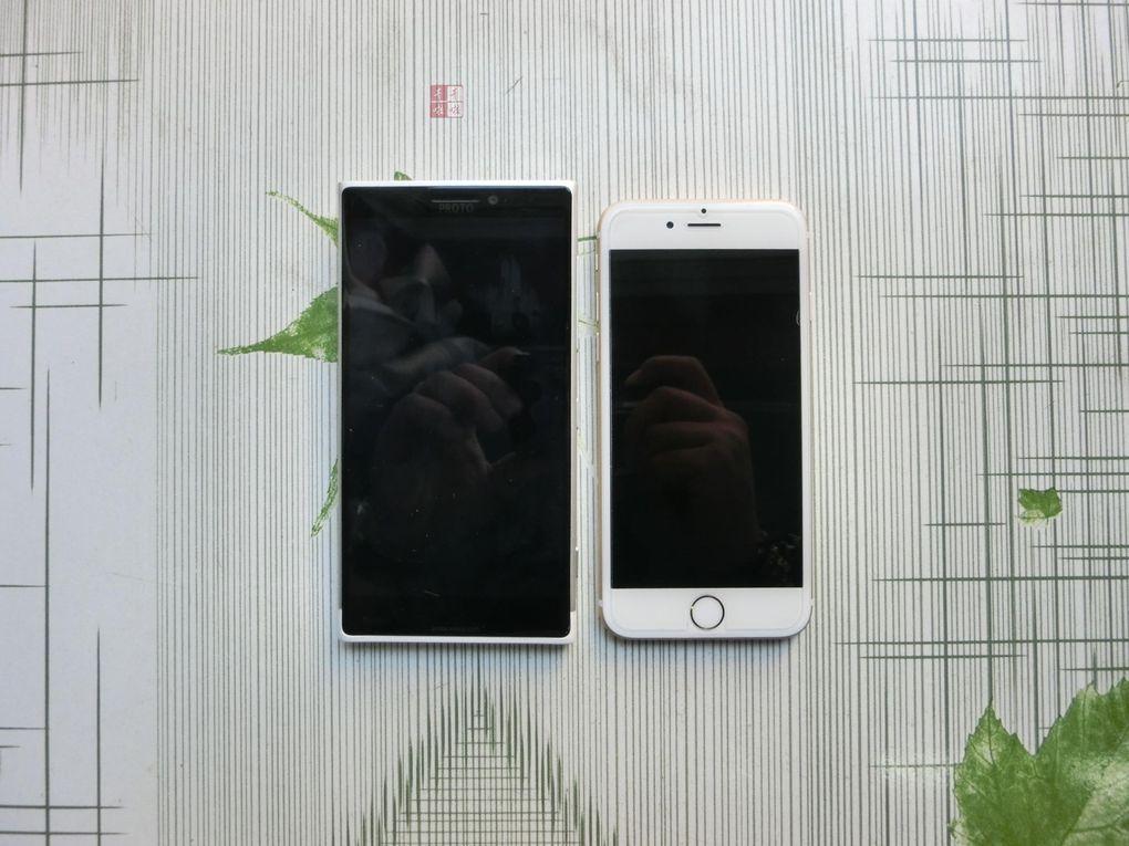 Lumia 1030 vs iPhone 6 4