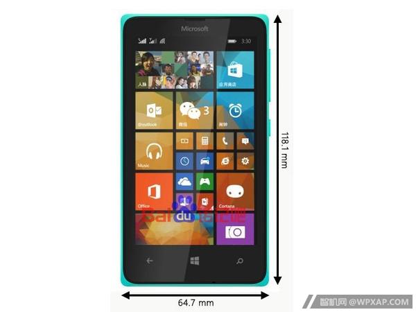 Imagen filtrada del Microsoft Lumia 435
