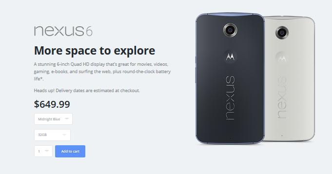 Nexus-6-tienda-Motorola