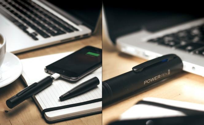 Power Pen es un bolígrafo que incluye en su interior una batería de 700 mAh.