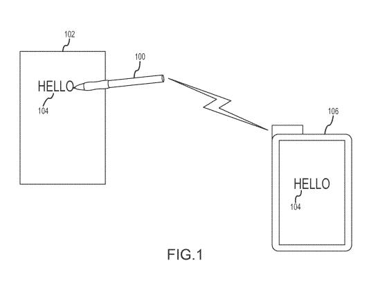 Patente del stylus de Apple