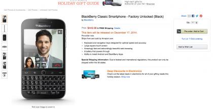 blackberry classic-amazon