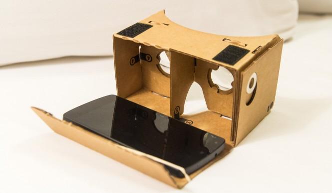 Nexus 5 y Google Cardboard