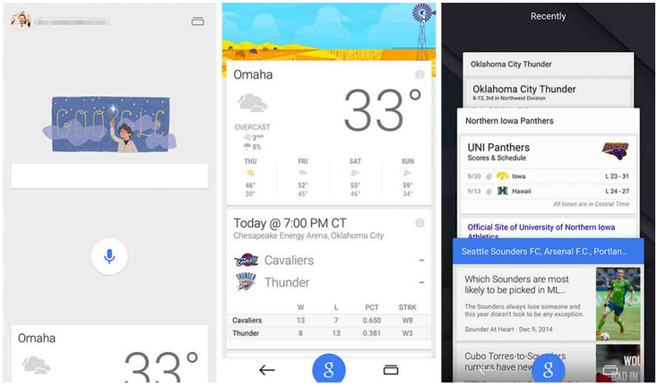 Google 5.0.0 con Material Design