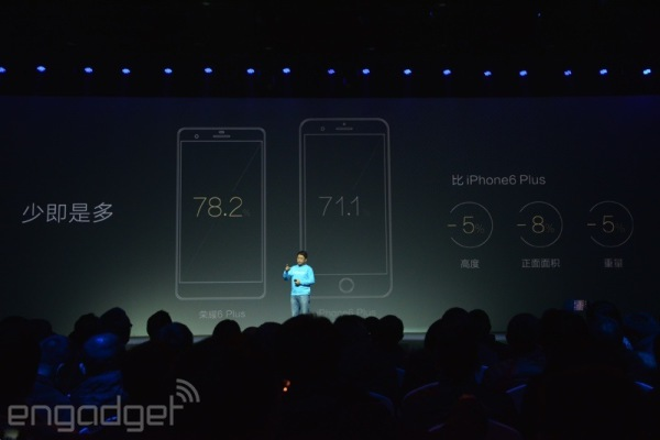 iPhone 6 Plus vs Honor 6 Plus advantages