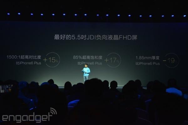 iPhone 6 Plus vs Honor 6 Plus extras