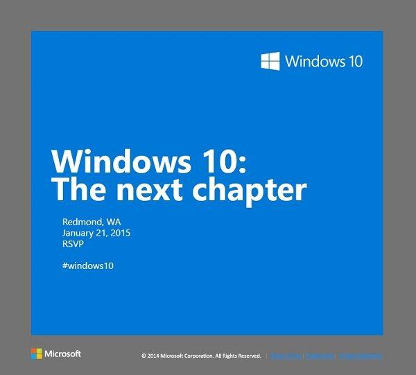 Windows 10: El próximo capítulo