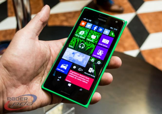 Lumia 735 en México