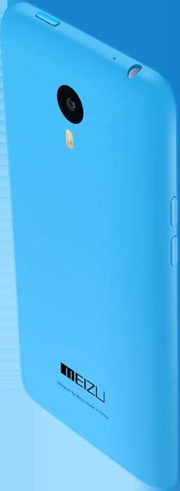 Parte posterior del Meizu M1 Note