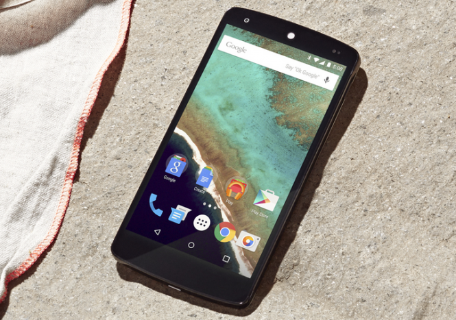 Nexus 5 con Android 5.0 Lollipop