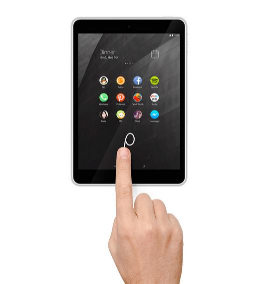 Nokia N1 con Z Launcher encima de Android