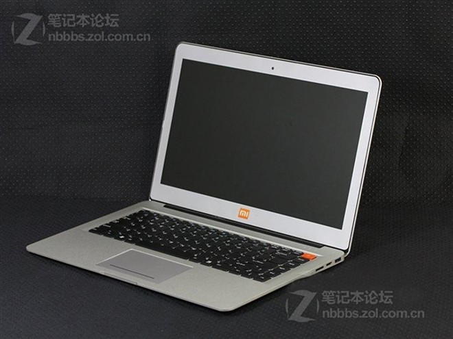 Posible diseño de la laptop Xiaomi