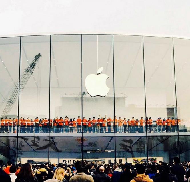 Inauguración de la tienda Apple de West Lake en China