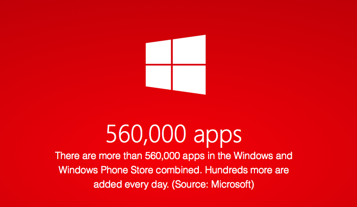 560 000 apps