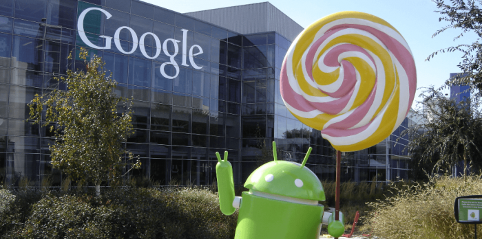 Android-Lollipop-with-Google-logo