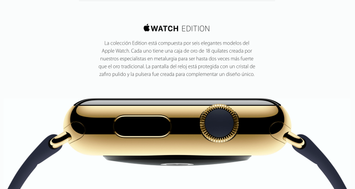 Apple Watch Edition tendrá protección especial en las Apple Store