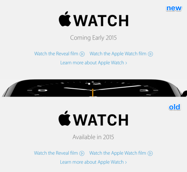 Apple Watch - 14 de febrero