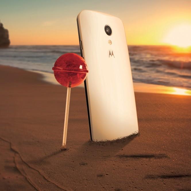 Motorola con Lollipop