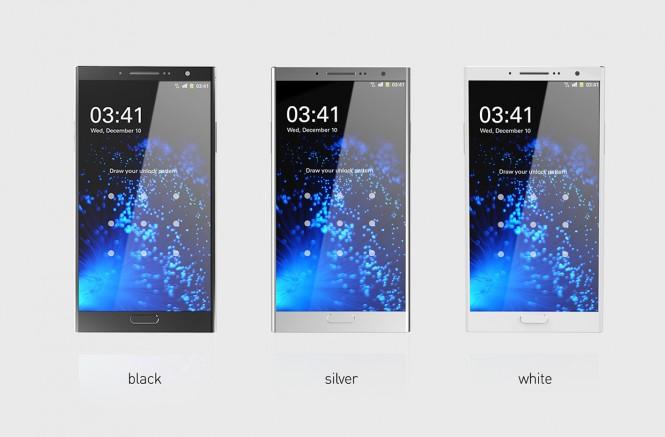 El Kyuho Song hizo el concepto en tres diferentes colores en Negro, Plata y Blanco.