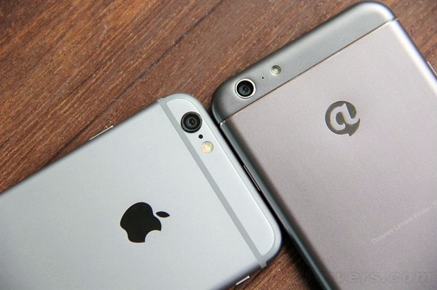 Dakele 3: Un iPhone 6 corriendo Android