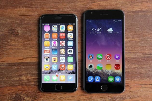 iPhone 6 vs Dakele 3