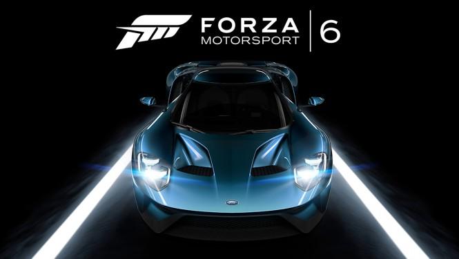 El nuevo Ford GT es la portada del Forza Motorsport 6.