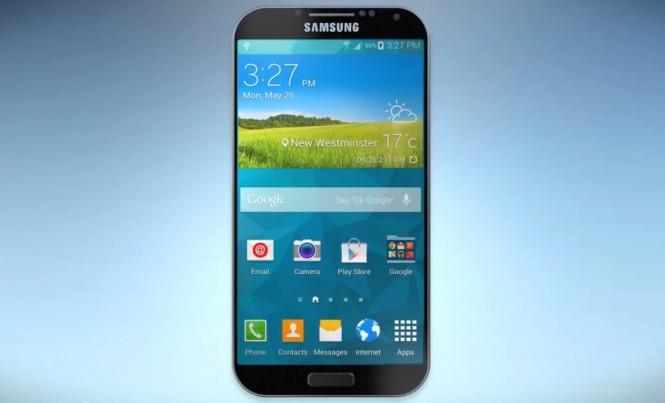 Supuesta imágen del Galaxy S6 según el video de My Knox.