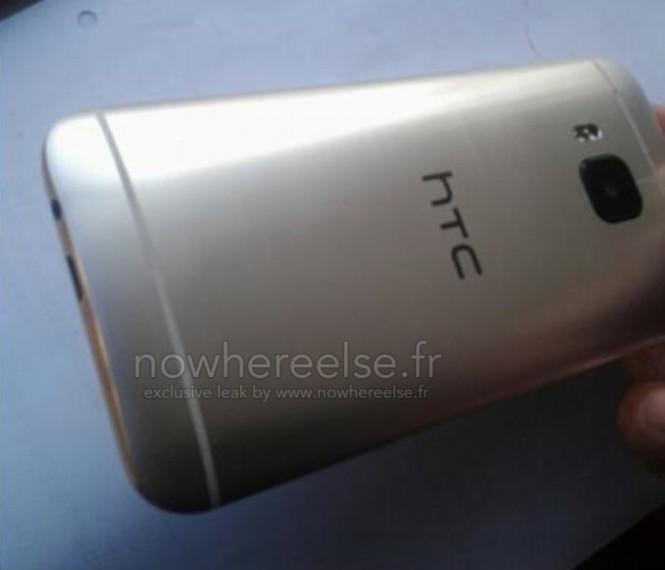 Prototipo del HTC One M9 que no supuestamente no refleja el diseño final