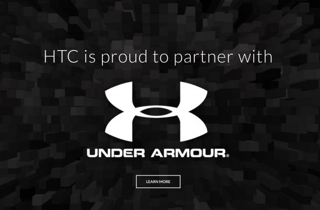 HTC y Under Armour anuncian sociedadpng