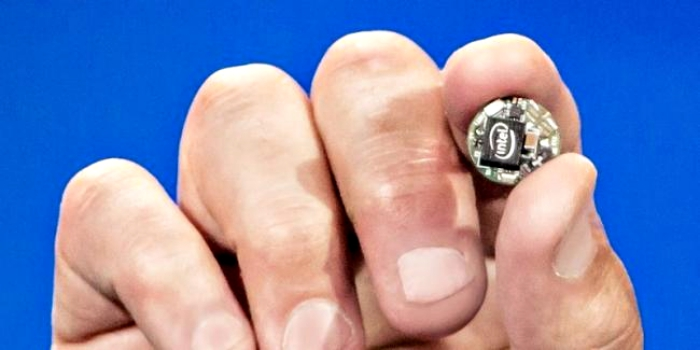 Intel Curie - CES 2015