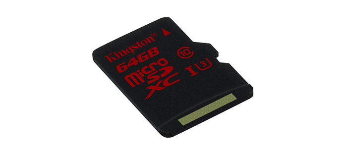 Kingston MicroSD UHS 4k