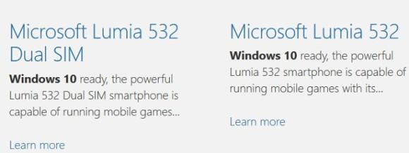 Lumia 532 Windows 10 ready