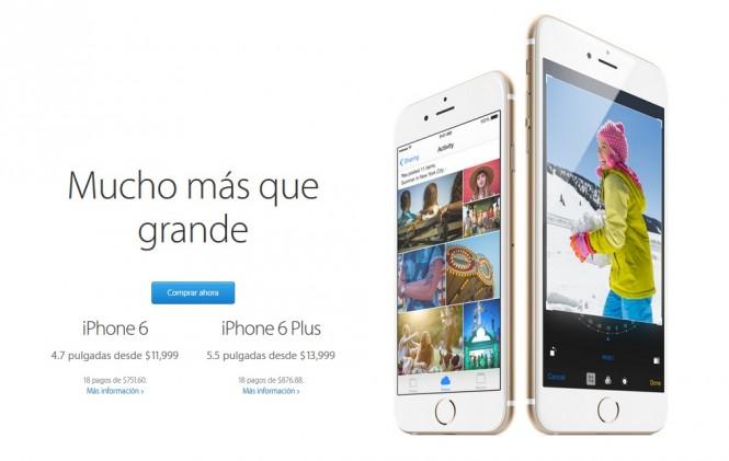 El iPhone 6 es mucho más que grande, también es más costoso.