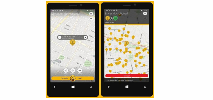 Nokia Lumia Easy Taxi 3