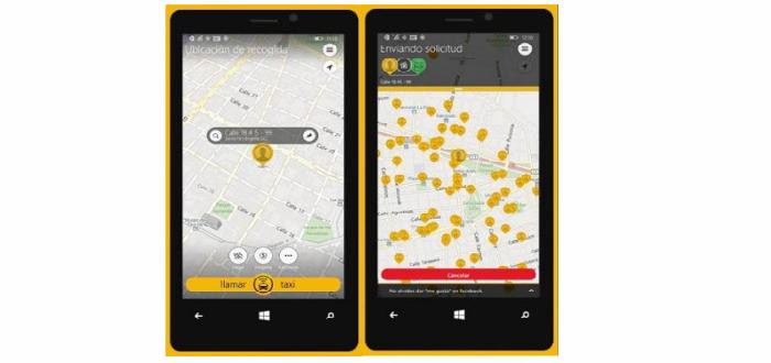 Nokia Lumia Easy Taxi 3