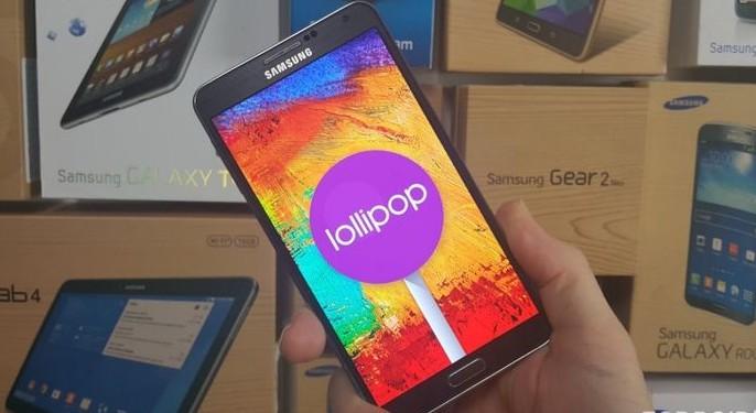 Una filtración permite instalar Android Lollipop en los Samsung Galaxy Note 3.