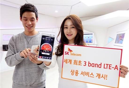 El Galaxy Note 4 S-LTE puede llegar a una velocidad de conexión de hasta 450 Mbps.