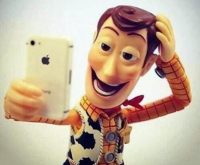 El mensaje de las selfies