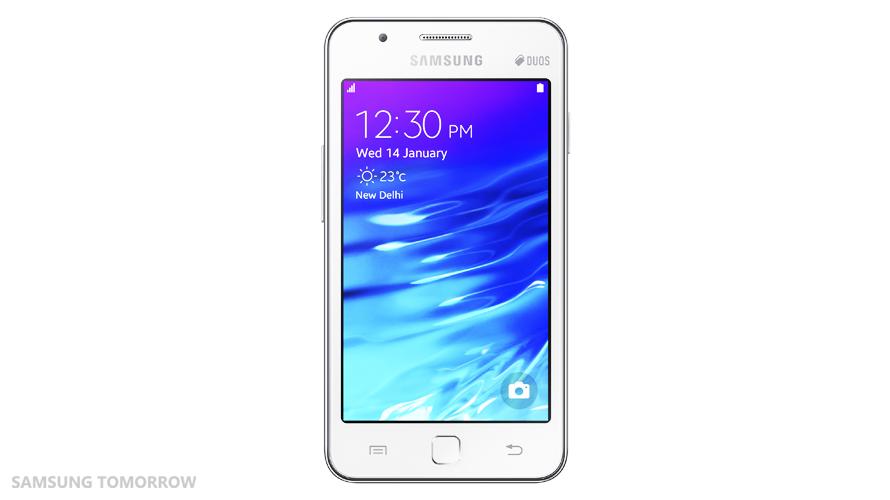 Samsung_Z1_Front_White
