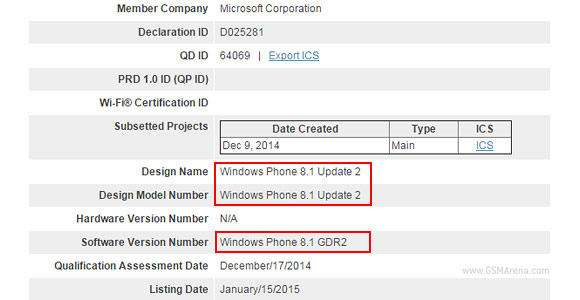 Windows Phone 8.1 certificado Bluetooth SIG
