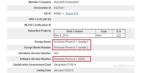 Windows Phone 8.1 certificado Bluetooth SIG