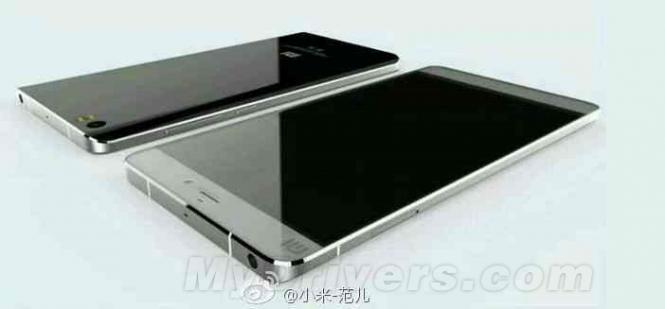 Xiaomi Mi5 render
