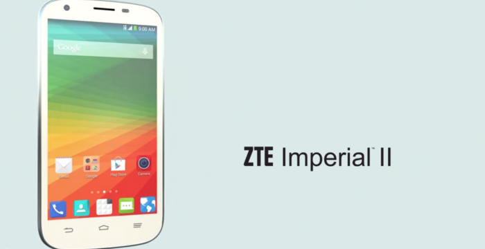 ZTE Imperial II featured