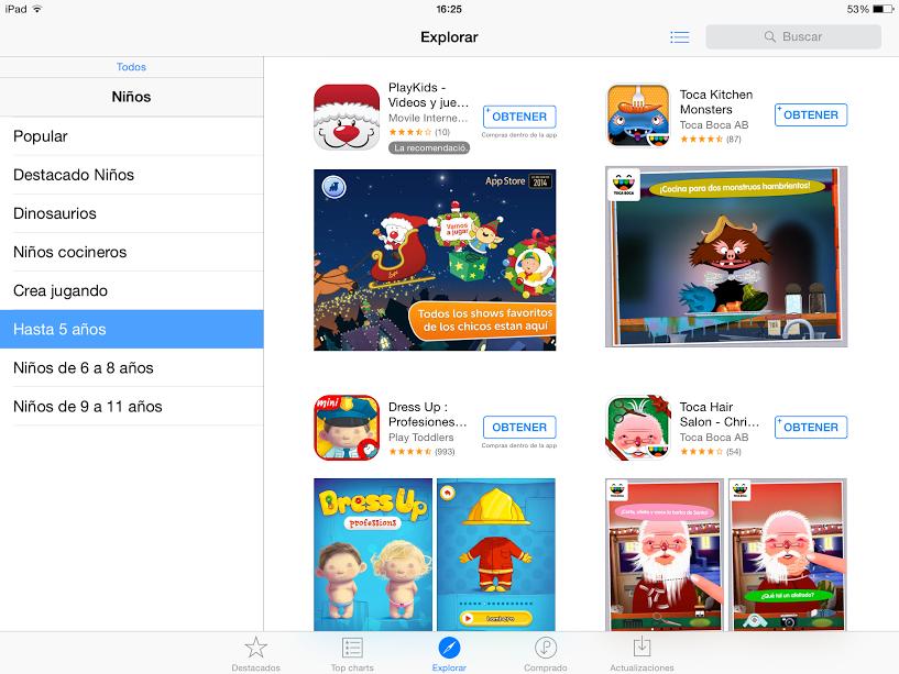 app store peques 5
