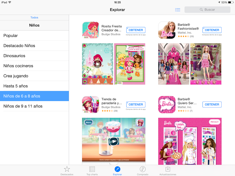 app store peques 6-8