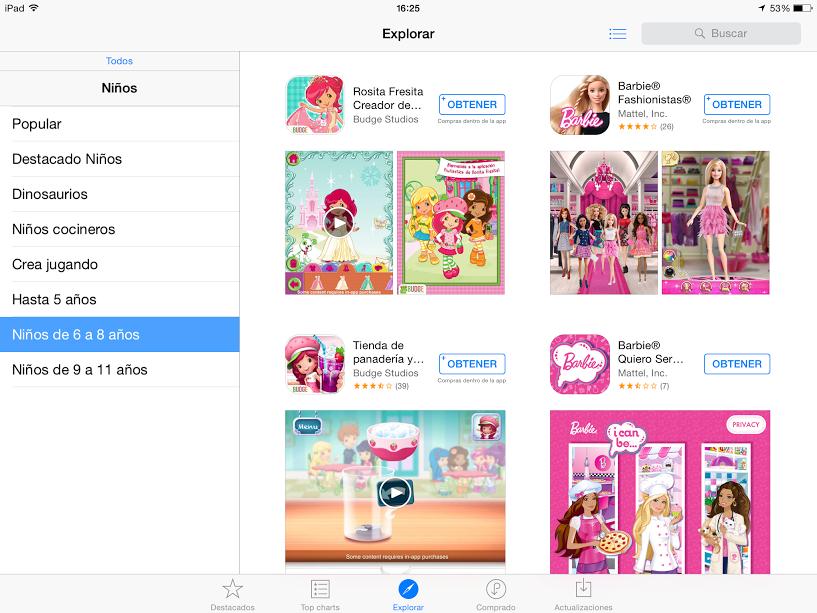 app store peques 6-8