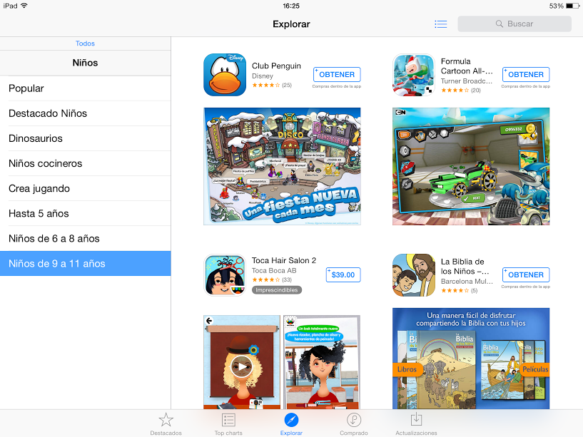 app store peques 9-11