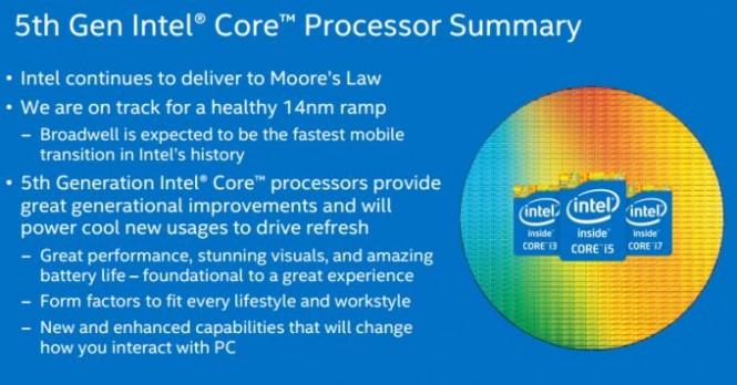 Resumen de las mejoras que traen los procesadores Broadwell