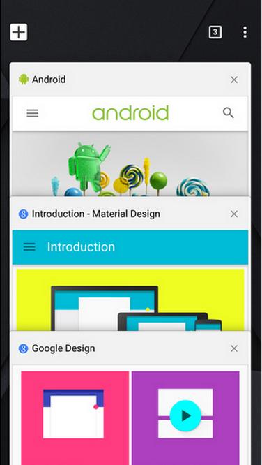 Chrome versión 40 para iOS